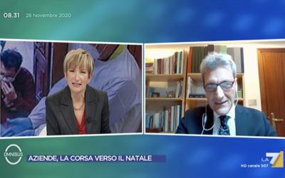 Elio Accardo, vicepresidente Assobibe e AD Cedral Tassoni, interviene sulla Sugar Tax a Omnibus La7